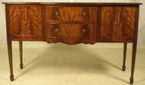 Georgian Style Mahogany Sideboard Base